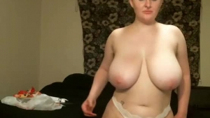 Blonde mom in porn casting with huge tits