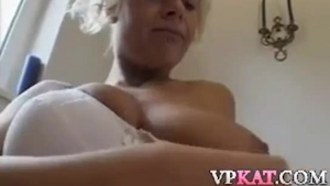 Dirty minded brunette is working as a prostitute, because she likes doing dirty stuff