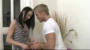 Brandy Aniston did not take off her clothes for herself. She asked her lover to fuck her hard